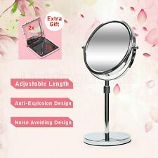 Magnifying Makeup Mirror 7 inch Double Side 1X 3X Adjustable Stand 360° Swival