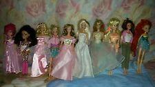 Barbie e Winx e altro bambole lotto