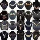 Fashion Charm Metal Chunky Statement Bib Chain Choker Pendant Necklace Jewelry