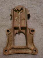 ANTIQUE CAMEL CO 1912 HEAVY DUTY RAILROAD  DOOR HANGER ROLLER  BARN DOOR ROLLER