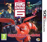DISNEY BIG HERO 6 BATTAGLIA NELLA BAIA PER NINTENDO 3DS nuovo