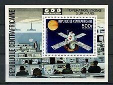 Central African Republic 1976 SG#MS665 Viking Space Mission To Mars M/S #A59761