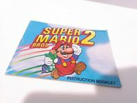 Super Mario Bros. 2 Original Nintendo [Instruction Booklet Manual ONLY]
