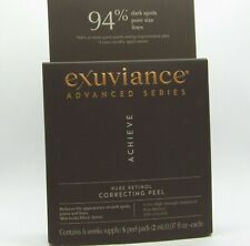 exuviance Advanced Series Pure Retinol Correcting Peel 6 Week Supply = 6 pads