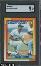 1990 Topps #414 Frank Thomas White Sox RC Rookie HOF SGC 9 MINT