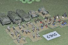 15mm ak47 5 veicoli africano & 45 cifre (6305) in metallo verniciato