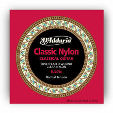 D'Addario EJ27N Classical Clear Nylon Normal Tension Classical Guitar Strings
