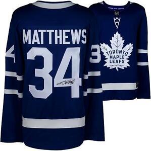Auston Matthews Maple Leafs Autographed Fanatics Breakaway Jersey - Fanatics