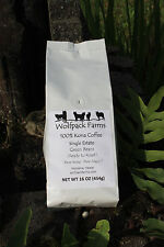 100% Kona Coffee Green Beans (Ready to Roast) 4 pounds whole bean, free shipping