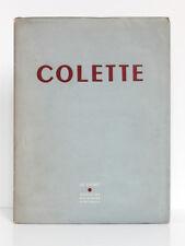 Colette. Le Point Revue artistique et littéraire XXXIX, mai 1951. Photographies.