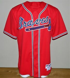 2005 Wilson Betemit Game Worn Atlanta Braves ALT Jersey #24 - Size 48