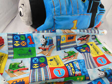 """Thomas the Tank Engine 15"""" Plush Pillow Toy Thomas & Friends + 31"""" X 44"""" fabric"""