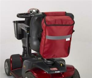 New Deluxe Mobility Scooter bag  from Ducksback Red
