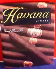 HAVANA CIGARS COFFEE TABLE REFERENCE BOOK (MAN CAVE BOOK)
