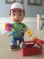 Handy Manny Let's Get to Work Mini Toolbox Tools Doll Mattel 2007