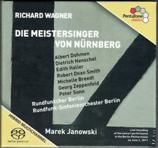 4.SACD WAGNER DIE MEISTERSINGER VON NÜRNBERG Albert Dohmen Haller Marek JANOWSKI