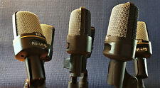 Sennheiser MD409 capsule in new housing (and the story of the capsules)