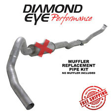 Diamond Eye 4 Inch Turbo Back Exhaust 1993-2000 Chevy Silverado 6.5L Diesel