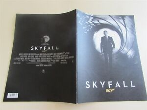 SKYFALL JAMES BOND CRAIG MOVIE PROGRAM FROM JAPAN (10)