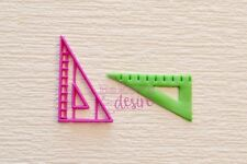 Triangle Ruler cookie fondant cutter Fathers day special