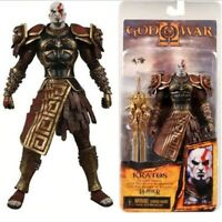 """7"""" NECA God of War Armored Kratos Action Figure Toy Collectible Video Game Model"""