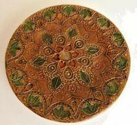 Vintage Ceramica Del Convento Aracena Wall Hanging Plate 19cm