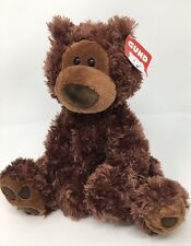 "**NEW** PHILBIN TEDDY BEAR Chocolate GUND BEAR - 13""  NEW - #320046"