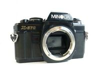 Minolta X-570 Camera Body w/Function Back Black for Parts or Repair