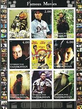SLEEPY HOLLOW SOME LIKE IT HOT GLADIATOR LORD OF THE RINGS MNH STAMP SHEETLET