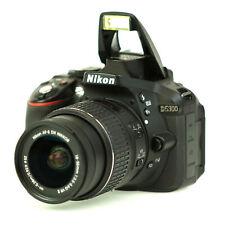 Nikon D5300 24.2MP DSLR Camera w/ 18-55mm AF-S NIKKOR Zoom Lens