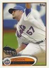 2012 Topps #479 Johan Santana NM-MT Mets