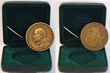Vaticano Medaglia Giovanni paolo II Visita Polonia alla madonna Czestochowa FDC