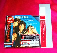 The Rolling Stones Through The Past Darkly MINI LP CD PROMO OBI JAPAN UICY-93028