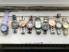 Joblot X9 Identity London Iced Out Swatovsky Chromograph Watch ALL WORKING