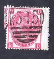 GRANDE BRETAGNE- N°: 28 YEAR 1865 -  USED-  CV:80 €