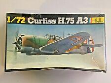 HELLER 214 Maquette 1/72 Curtiss H.75 A3 - NEUVE sous Plastique