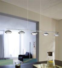 WOFI Designer Retro Jade Light 20W Lamp LED Chrome Ceiling Pendant RRP £362