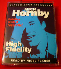 Nick Hornby High Fidelity 2-Tape Audio Book Nigel Planer Music/Vinyl/Record Shop