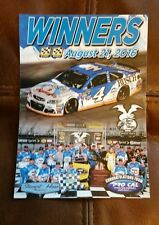 KEVIN HARVICK 2016 NASCAR BRISTOL race used team issue WIN DECAL
