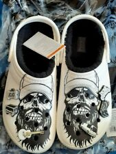 NEW IN HAND Skeleton Luke Combs Crocs Classic lined clog Mens 4 Womens 6 m4 w6