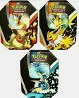 Внешний вид - Pokemon TCG Eevee Evolutions Tin Fall 2021 Set of 3 Tins SEALED