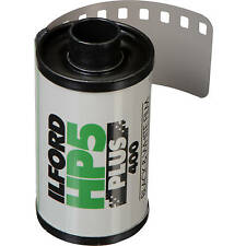 *New* Ilford HP5 Plus 36 exp 35mm (5 Rolls) - Free Shipping!
