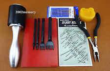 10pcs leather craft sewing stitch laçage chisel punch aiguille pince outil set kit