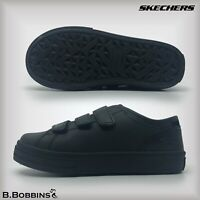 Skechers® Boys Gallix OB Black Trainers School Shoes Size UK 9.5 10 11 12 13 1 2