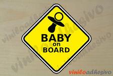 PEGATINA STICKER VINILO Bebe a bordo ref9 Baby on board autocollant aufkleber