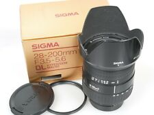 SIGMA 28-200 F3,5-5,6 DL HYPERZOOM MACRO FOR NIKON AFD + Geli boxed defekt