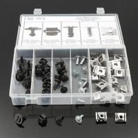 60Pcs Car Engine Protection Pan Hardware Kit Pin Clip Nut for Audi A4 /VW  XRL