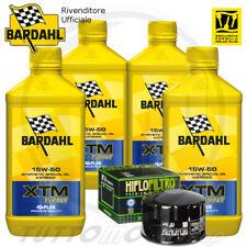 TAGLIANDO OLIO BARDAHL XTM 15W50 FILTRO HF164 BMW R 1200 GS Adventure 2010 2011