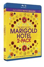 The Best Exotic Marigold Hotel 1-2 (Region Free) Blu Ray