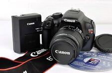 Canon EOS Rebel T3 1100D 12.2 MP Digital DSLR Camera Kit EF-S 18-55mm IS II Lens